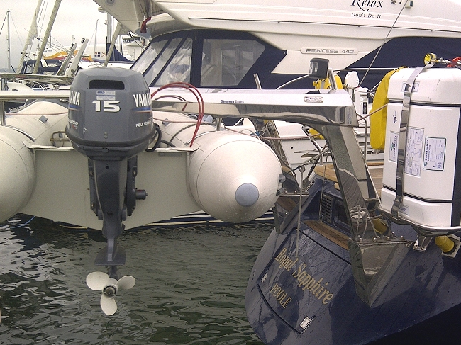 Simpson Stainless Steel Davits Portsmouth Hampshire